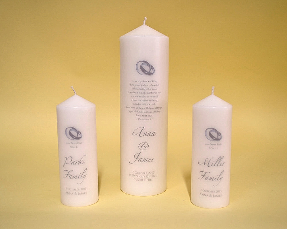 Wedding Candles: Beautiful Personalised Candles Online